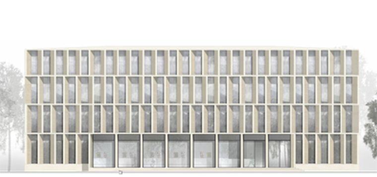 Architektur Ansicht bbr walter meissner bau architektenwettbewerb walter meißner bau