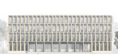 Ansicht Architektur bbr walter meissner bau architektenwettbewerb walter meißner bau