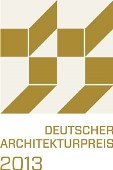 Logo Deutscher Architekturpreis 2013